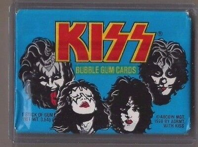1978 donruss kiss wax pack sealed and unopened