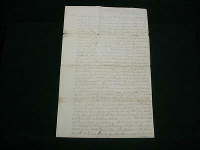 NobleSpirit NO RESERVE {3970} 1831 Letter from William H. Noble to Silas Wright