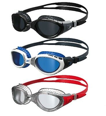 Swim Goggles Speedo Futura BIofuse 180 degrees Antifog Lens + Free AUS shipping