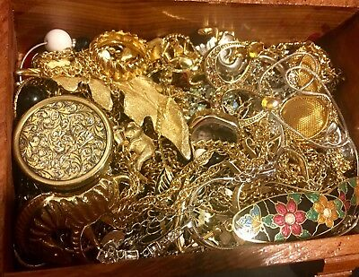 Huge Vintage To Now Jewelry Lot Estate Find Unsearched Untested ~Must See!!~