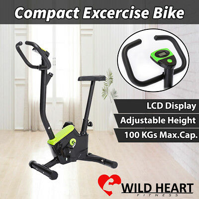 Exercise Bike Fitness Bicycle Home Gym Trainer Cycle Equipment Cardio