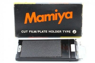 *Exc++* Mamiya Cut Film Plate Holder Type J w/Box for Universal Press from Japan