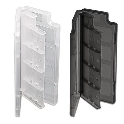 New Transparent 10 in 1 Game & Memory Card Holder Case Storage Box for PS Vita