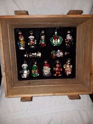 2002 Thomas Pacconi Classics Collection Ornaments And Wood Box 36 Pieces