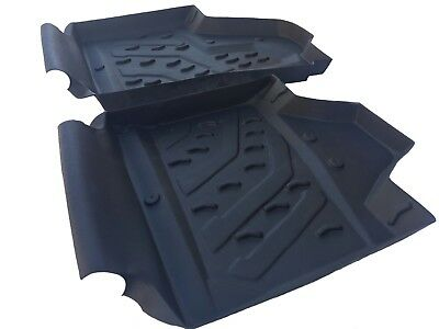 CAN-AM MAVERICK X3 MOLDED RUBBER FLOOR MATS LINERS 2017 2018 parts accesories