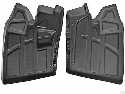 NIB Polaris RZR floor mats protectors, rubber 800, 900 accessories 2009-2014
