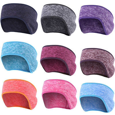 Hot Sport Running Ear Warmer WInter Head Bands Polar Fleece Ski Ear Muff Unisex
