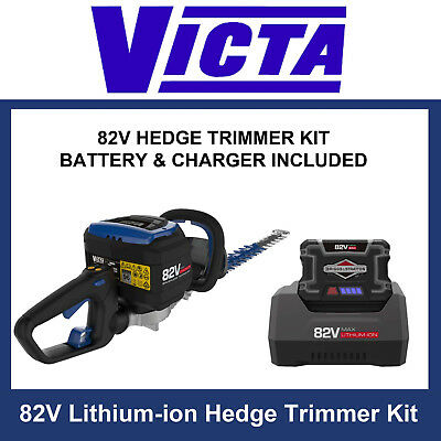 Victa 82V Cordless / Battery Hedge Trimmer Kit inc. 2Ah battery & charger