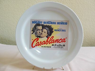 Pottery Barn Casablanca 2002 Turner Classic Movies Collectors Plate