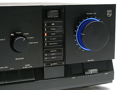 PHILIPS FA960 /00R Stereo Integrated Amplifier Verstärker High End 2x 125W