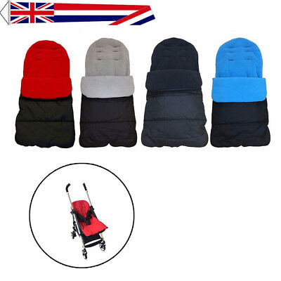 DELUXE BABY BUGGY PRAM UNIVERSAL FOOT MUFF COSY TOES STROLLER APRON LINER TOOL f