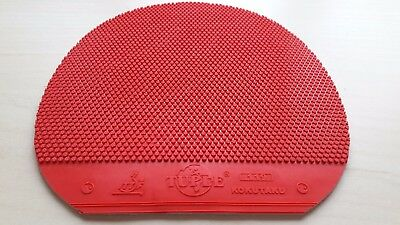 Used Table Tennis Rubber -  Kokutaku 119 SP Short Pimple 2.0mm Red  W150 x H156