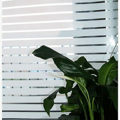 Removable Privacy Frosted Frosting Window Glass Film Bathroom Office 90cm x 3m