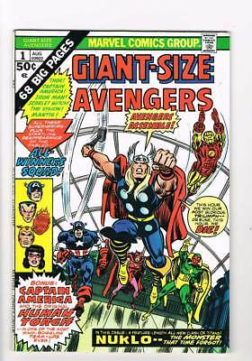 Avengers Giant Size # 1 Nuklo - Invader that Time Forgot ! grade 7.0 scarce !!