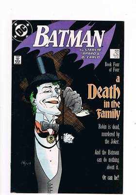 Batman # 429 A Death in the Family ! - Chapter 6 ! grade 8.0 scarce book !!