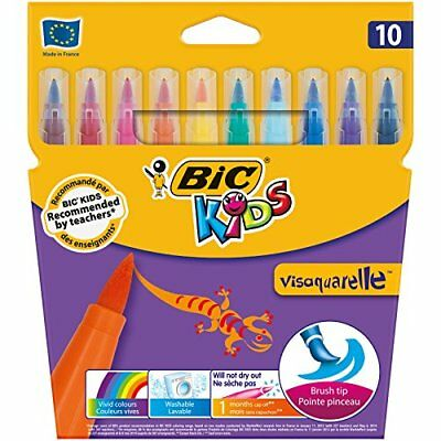 BIC Kids Visaquarelle Colouring Pens 10 Pack