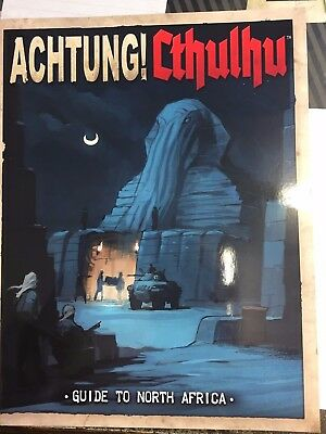 achtung cthulhu guide to north africa, mint condition