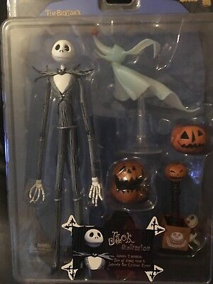 Jack Nightmare Before Christmas Action Figure Boxed