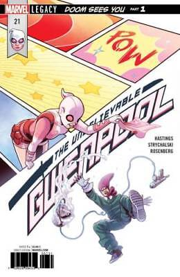 Marvel The Unbelievable Gwenpool #21 1St Print