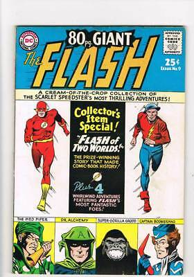 Eighty Page Giant # 9 The Flash of Two Worlds ! grade 6.5 scarce book !!
