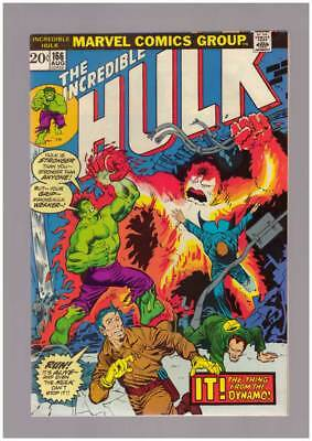 Incredible Hulk # 166  The Thing from the Dynamo !  grade 8.5 scarce book !