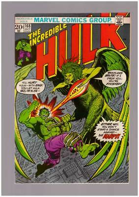 Incredible Hulk # 168  You Don't Stand a Chance !  grade 8.5 scarce book !