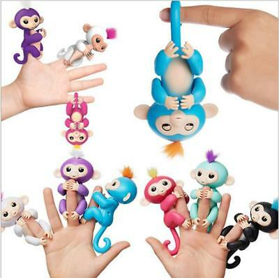 2017 Cute Finger Toy Baby Monkey Interactive Toy Robot Pet Kids Gift