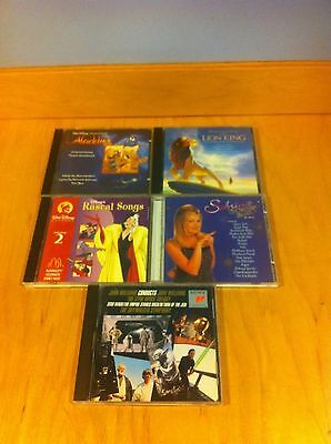 Music Lot of 5 Movie Soundtracks CD 3 Disney & Star Wars Trilogy~Sabrina