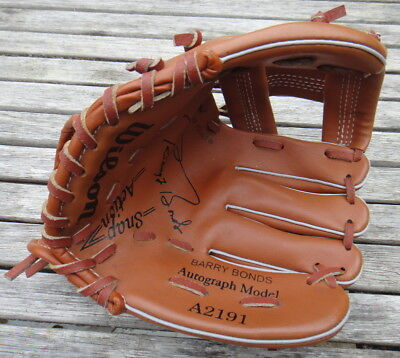 Wilson Baseball Mitt barry Bonds A2191 8.5''