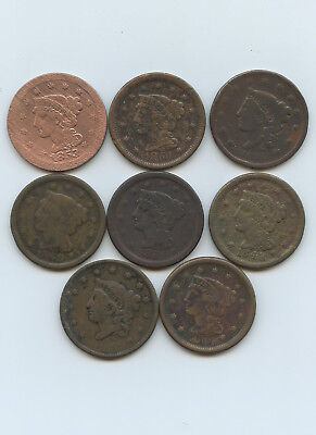 Mixed Lot of Large Cents - #12650