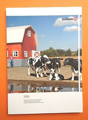 SCHLEICH HÄNDLERKATALOG 2009 DIN A4 TRADE CATALOGUE KATALOG BOOK - 173 Pages