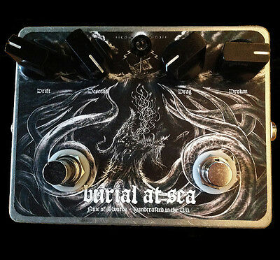 BURIAL AT SEA Fuzz - Nine of Swords Effects. Handcrafted in the UK.