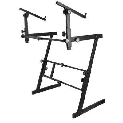 OnStage 2 Tier Z style Keyboard Stand