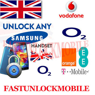 Orange EE T-Mobile Vodafone UK Samsung Galaxy S6 / S6 Edge Plus + Unlock Code