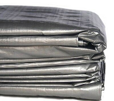 6m x 10m 19ft x 32ft HEAVY DUTY PE TARPAULIN - TYPE 210