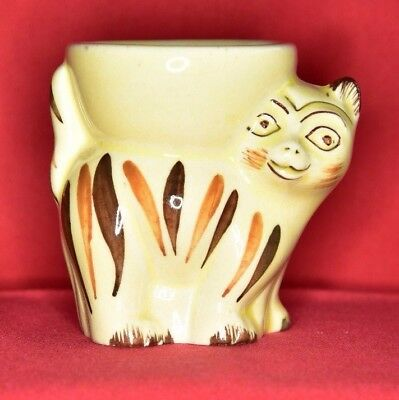 Rare Striped Cat Egg Cup