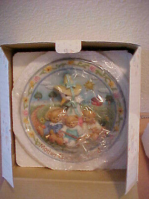 Cherished Teddies Mother Goose & Friends Happily Ever Plate  New in Box 170968