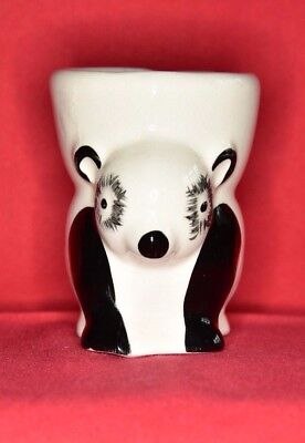 Pair of Rare Panda Egg Cups