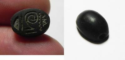 ZURQIEH -ev12- Ancient Egypt. New Kingdom. 1550 - 1077 B.C. Stone Scarab.