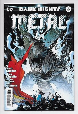 Dark Nights Metal #3 - Kubert Variant (DC, 2017) - New/Unread (NM)