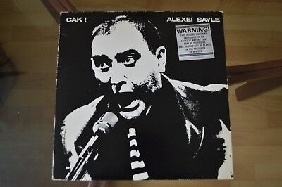 Alexei Sayle Cak! Original vinyl - very good condition