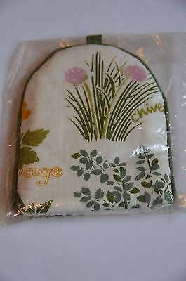 National Trust Egg Cosy Herbs Design by Pat Albeck New and Sealed