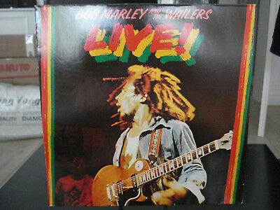 Bob Marley And The Wailers – Live! - 1975 Island Records ‎89 729 XOT - EX