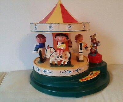 Magic Roundabout Carousel With All Figures & Working