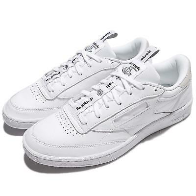 862127026017 Reebok Club C 85 IT Iconic Taping Pack White Skull Grey Men Classic BS6212