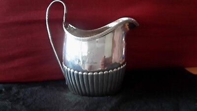goerge  111 1797 cream jug by peter and anne Bateman