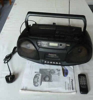 Panasonic portable radio/cd/tape player