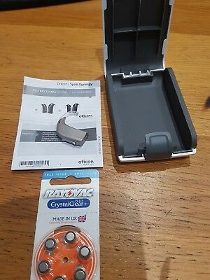 Oticon Spirit Synergy BTE -  Hearing Aid - Used - with box and 6 batteries