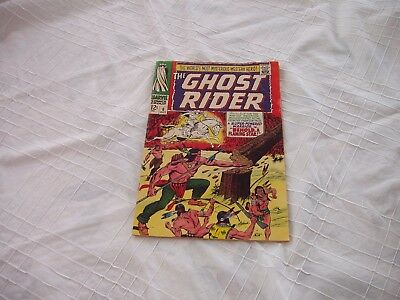 The Ghost Rider Vol 1 #6 - October, 1967-Marvel Comics Group
