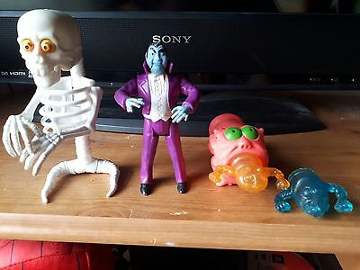 1980s Ghostbusters Toys Dracula, Bad to the Bone and Boo-zooka